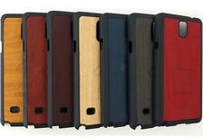 *High Quality Wood pattern Hard PC Back Cases Covers for Samsung Galaxy Note 4*