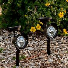 2 xPack Solar Led Lights Garden Spot Solar Light Outdoor Garden Path Solar Light