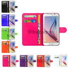 New PU Leather Flip Wallet Book Case Cover Pouch For Samsung Galaxy Ace 4