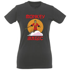 Monkey Magic Women's Slim Fit T-Shirt 100% Ethically Sourced Cotton