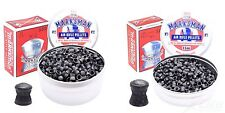 MARKSMAN .177 and .22 Domed Air Gun, Rifle and Pistol Lead Pellets. Qty 50-1000
