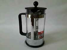 Bodum French Press 8 cup Kenya Coffee Maker chrome finish -fast shipping