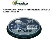 CAMPANE DA 10 DVD+R  PLATINUM 8.5GB 8X DOUBLE LAYER