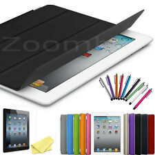 Ultra Slim Magnetic PU Leather Smart Stand Case Cover For Apple iPad 2 3 4