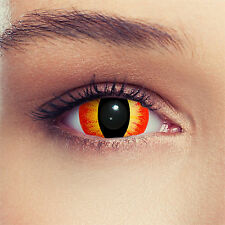 Mini Sclera Saurons Eye Contact Lenses Kontaktlinsen Lentilles Costume Cosplay