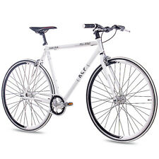 "28"" Zoll FIXIE RENNRAD FAHRRAD KCP FG1 FLAT 2016 FIXED GEAR SINGLE SPEED weiss"