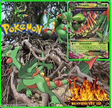 MEGA SCEPTILE EX,CHARIZARD  EX , VENUSAUR , (PERSONAGGIO IN CARTA POKEMON GO)