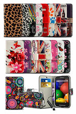 Vodafone Smart Prime 7 / VFD600 - Printed Pattern Wallet Case & Mini Pen