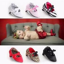 SCARPE SCARPINE NEONATA TACCO PUMPS NEWBORN SHOES