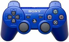 Blue  Sony PS3 Playstation 3 Dualshock Wireless Bluetooth Controller
