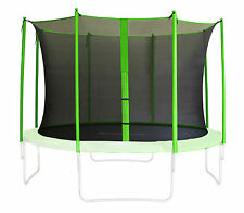 SIXBROS. FILET DE SÉCURITÉ FILET INTERNE TRAMPOLINE DE JARDIN VERT 185 - 460 CM