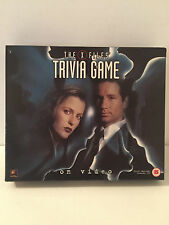 The X-Files Trivia Video Board Game 100% Complete VHS TAPE 1994 FREE UK POST inc