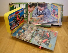 VINTAGE MADE IN HONG KONG OLD BATTERY OPERATED PIN BALL MACHINE GAME GRAND PRIX