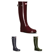 Ladies Hunter Original Refined Gloss Festival Winter Wellingtons Boots All Sizes