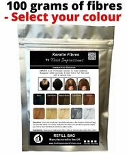 100g Hair Loss Thickening Fibres Building Fiber Refill Bags - SAVE £££'s