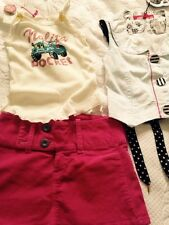 GIRLS OUTFIT NOLITA POCKET MISS SIXTY AGE 10 ITEMS X3