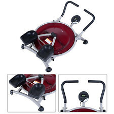 HOMCOM Mini Circle AB Trainer Fitness Abdominal Exercise Machine Gym Equipment