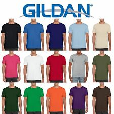 6 Pack Gildan Softstyle Cotton Plain Mens Womens T Shirts Wholesale Cheap Bulk