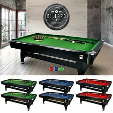 Miweba Tavolo Da Biliardo 7 Ft Billiardtisch Pool 7 Piede