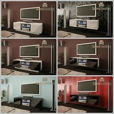 Superb TV Stand Unit Cabinet 120cm + Floating or Standing + Gloss + LED +Quality