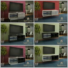 Superb TV Stand Unit Cabinet 100cm + Floating or Standing + Gloss + LED +Quality