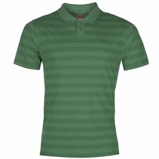 Lee Cooper Mens Yarn Dye Polo Shirt Green New With Tags