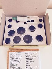 12 CUP THERAPY SET FOR DRY & WET HIJAMA Olympic Gold Cupping Therapy Cup Circles