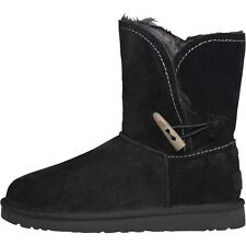 NEW GENUINE UGG Australia Womens Meadow Boots Black ALL SIZES