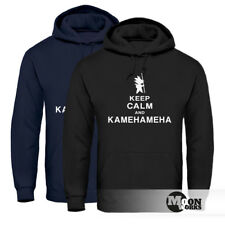 Hoodie Herren Keep Calm and Kamehameha Son Goku Dragonball Moonworks®