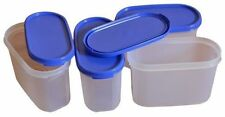 TUPPERWARE Dry Storage Container MODULAR MATE MM OVAL #2 - 1.1 LTR SET OF 2 PCS