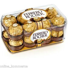 Ferrero Rocher Chocolates 200gm - Pack of 16 Pcs (100% Imported)