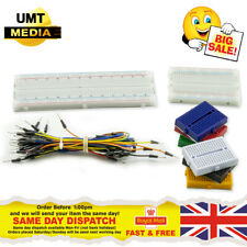 Solderless Prototype PCB Breadboard + 65pc Jump Cable Wires Arduino Raspberry PI