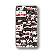NUTELLA CHOCOLATE COLLAGE  Hard Phone Case FITS IPHONE MODELS