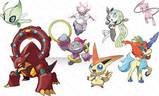 Event Pokemon list with perfect 6IV for Moon, Sun, Alpha & Omega X-Y 3DS