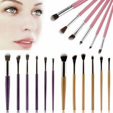 6Pcs Cosmetic Make-up Brushes Face Powder Blusher Foundation Kabuki Contour Set