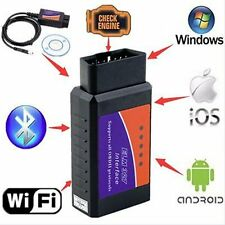 ELM327 USB Interface OBDII Diagnostic Auto Car Scanner Bluetooth WIFI Wired TR