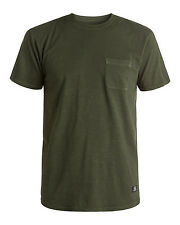 DC Shoes Ohlen Pocket  Mens T-Shirt in Dark Olive