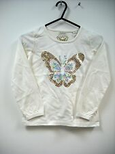 BNWT Girls Butterfly - Sequin Monsoon Long Sleeve Top  Age 5-6 Years