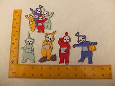 EMBROIDERED Teletubbies Laa Laa Po Dipsy Tinky Winky  Iron On / Sew On Patch