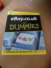 Ebay for Dummies / eBay.co.uk book for dummies in very good condition