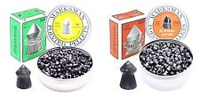 MARKSMAN .177 and .22 Pointed Air Gun, Rifle and Pistol Pellets. Qty 50-1000