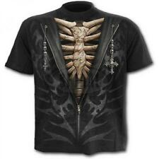 DTO. -20% ! Camiseta Chico SPIRAL Manga Corta Unzipped TR373600 Rock, Metal, Got