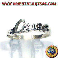 Anello In Argento 925 ‰ LOVE amore