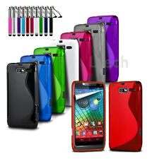 For All Apple iPhone Models - S-Line Wave Gel Silicone Case Cover & Ret Pen