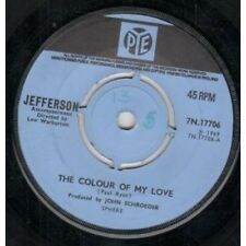 """JEFFERSON Colour Of My Love 7"""" VINYL B/W Look No Further (7N17706) Writing On"""