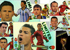 * Limited Edition Trading Cards Fifa World Cup Brazil 2014 Panini Adrenalyn XL
