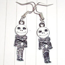 Kitsch Kawaii Cute Nightmare Before Christmas Jack Lantern earrings or necklace