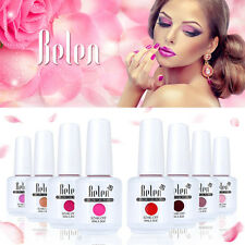 Belen Esmalte de Uñas de Gel Polish Color Soak off UV LED Manicura Arte 15ml