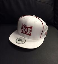 "NEW MY DC ""DYRDEK"" HAT - WHITE/RED - ADULT OSFM - 100% GENUINE PRODUCT - NEW CAP"