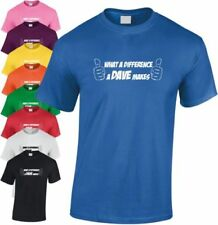 What A Difference Un Dave Hace Niños Camiseta Divertida Infantil Humor